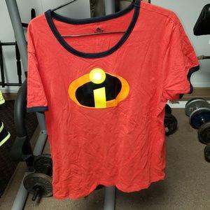 Ladies Disney Pixar The Incredibles shirt